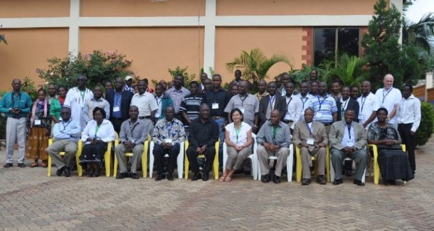 Group photo of all participants at the launch of the R4D platform