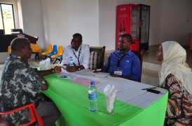Representatives of the various NGOs working with farmers in Babati