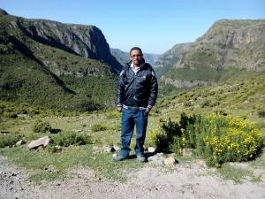Beautiful landscape around Menze area