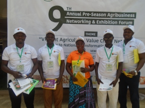 Africa RISING takes part in  preseason agribusiness networking forum in Tamale, Ghana